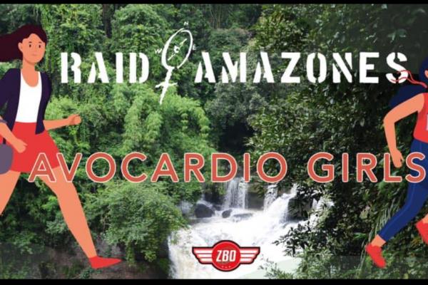 L'équipe Avocardio Girls en soutien à SOS Femmes